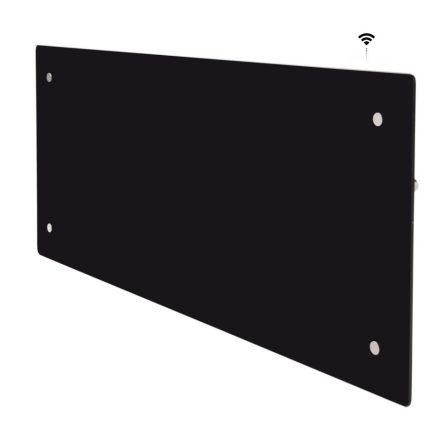 ADAX CLEA H 04 KWT WiFi fűtőpanel 400W, fekete