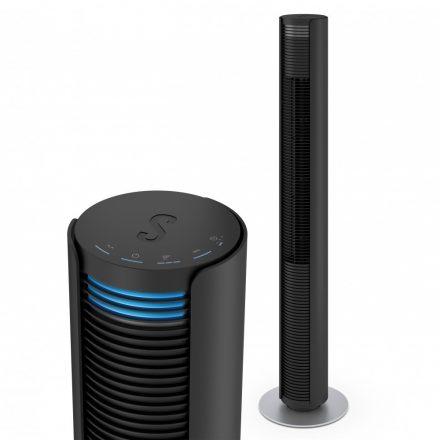 Stadler Form PETER forgó torony ventilátor (fekete)