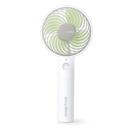 Stylies LACERTA Kézi ventilátor zöld